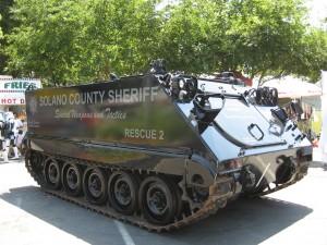 Sheriff APC tank